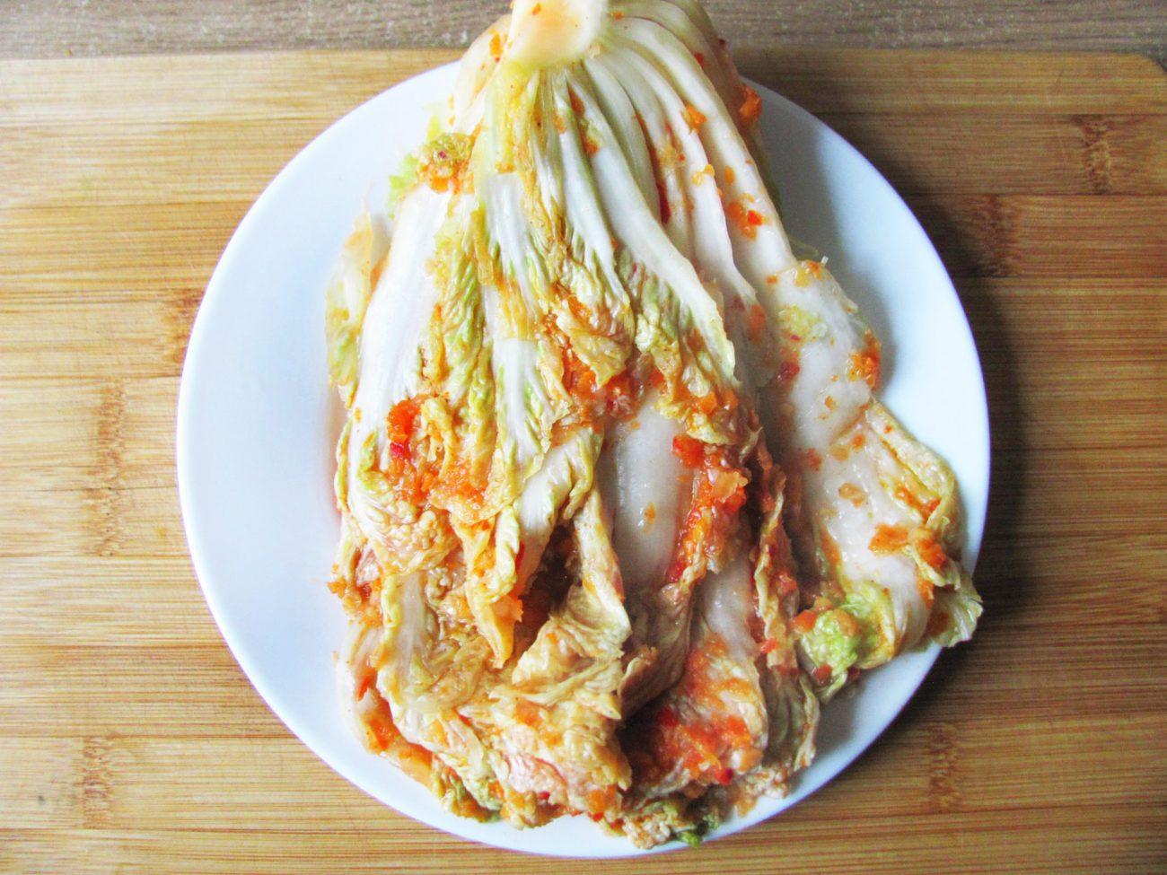 Домашнее кимчи – квашеная пекинская капуста