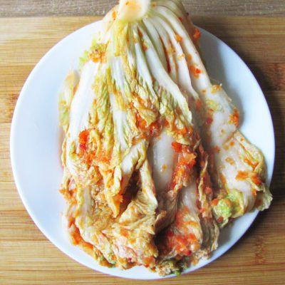 Домашнее кимчи – квашеная пекинская капуста - рецепт с фото