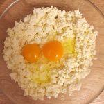 Фото рецепта - Творожно-сырные бублики - шаг 1