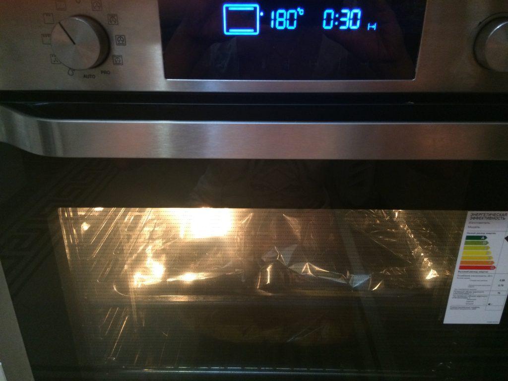 Фото рецепта - Печеный картофель на гарнир к мясу - шаг 7