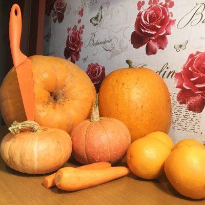 Фото рецепта - Цукаты из тыквы и апельсина - шаг 1