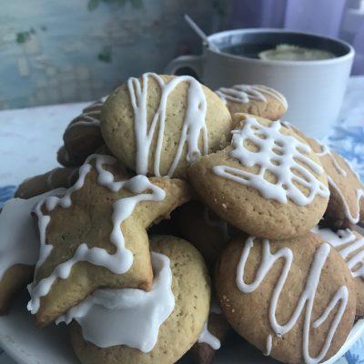 Печенье с глазурью - рецепт с фото