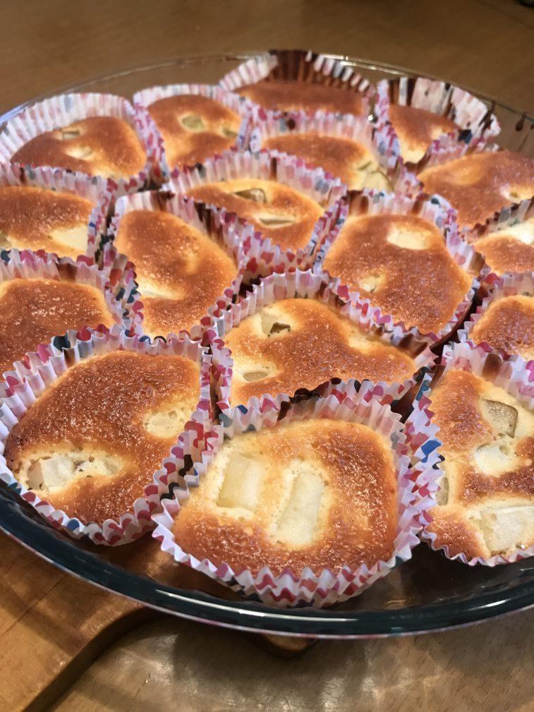 Фото рецепта - Кексы с грушей - шаг 6