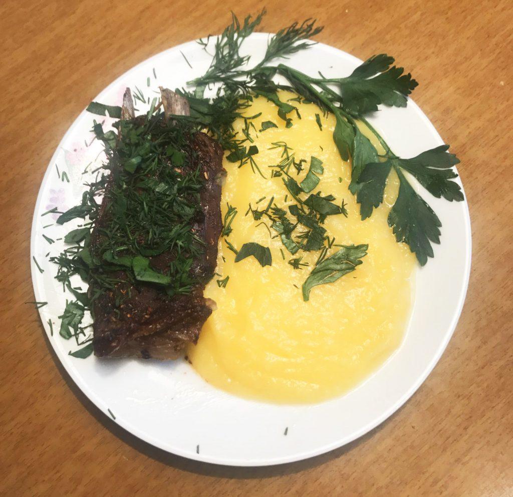 Фото рецепта - Пюре из тыквы и картофеля - шаг 6