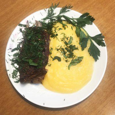 Пюре из тыквы и картофеля - рецепт с фото