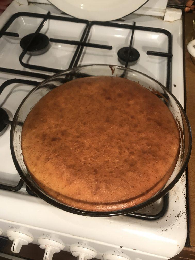 Фото рецепта - Торт «Пища богов» - шаг 4
