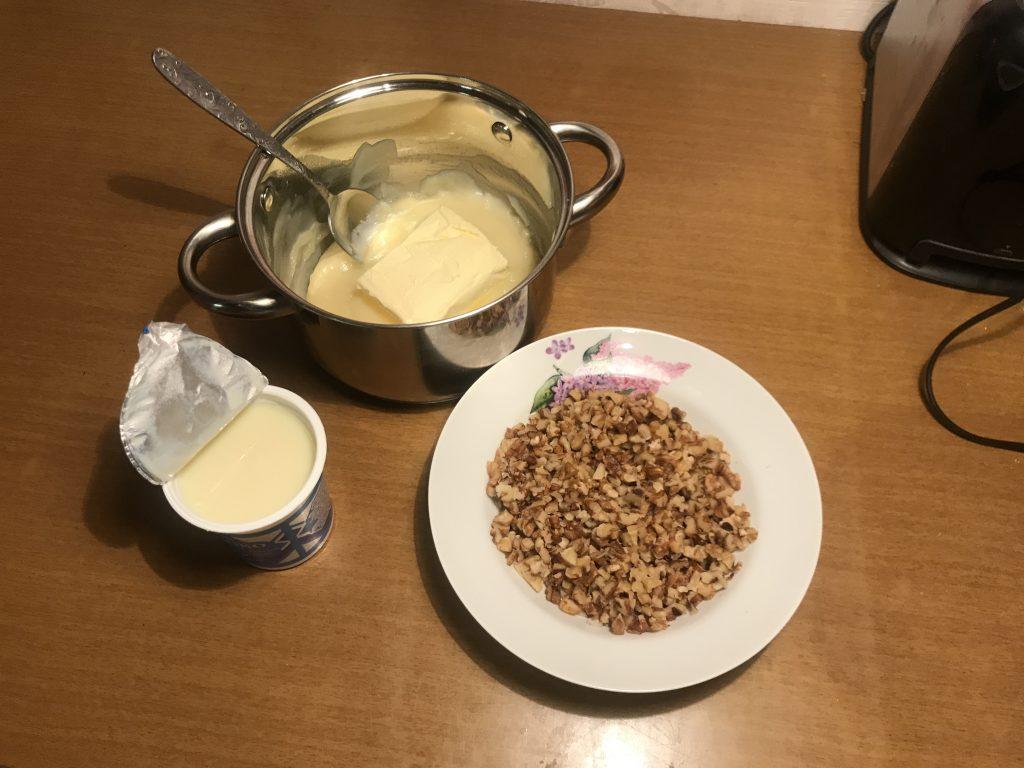 Фото рецепта - Торт «Пища богов» - шаг 6