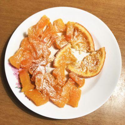 Цукаты из тыквы и апельсина - рецепт с фото