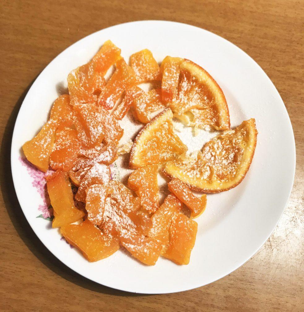 Фото рецепта - Цукаты из тыквы и апельсина - шаг 6