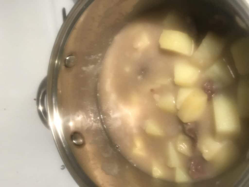 Фото рецепта - Косуля тушеная с картофелем - шаг 4