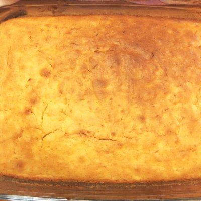 Простой лимонный пирог - рецепт с фото