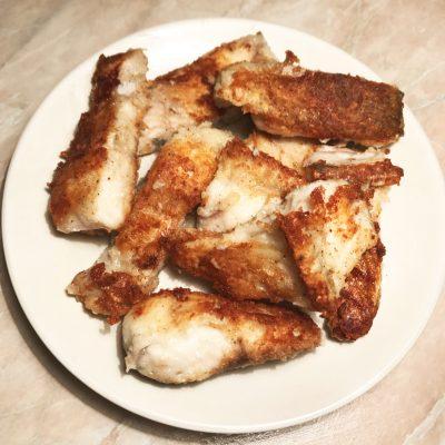 Щука жареная - рецепт с фото