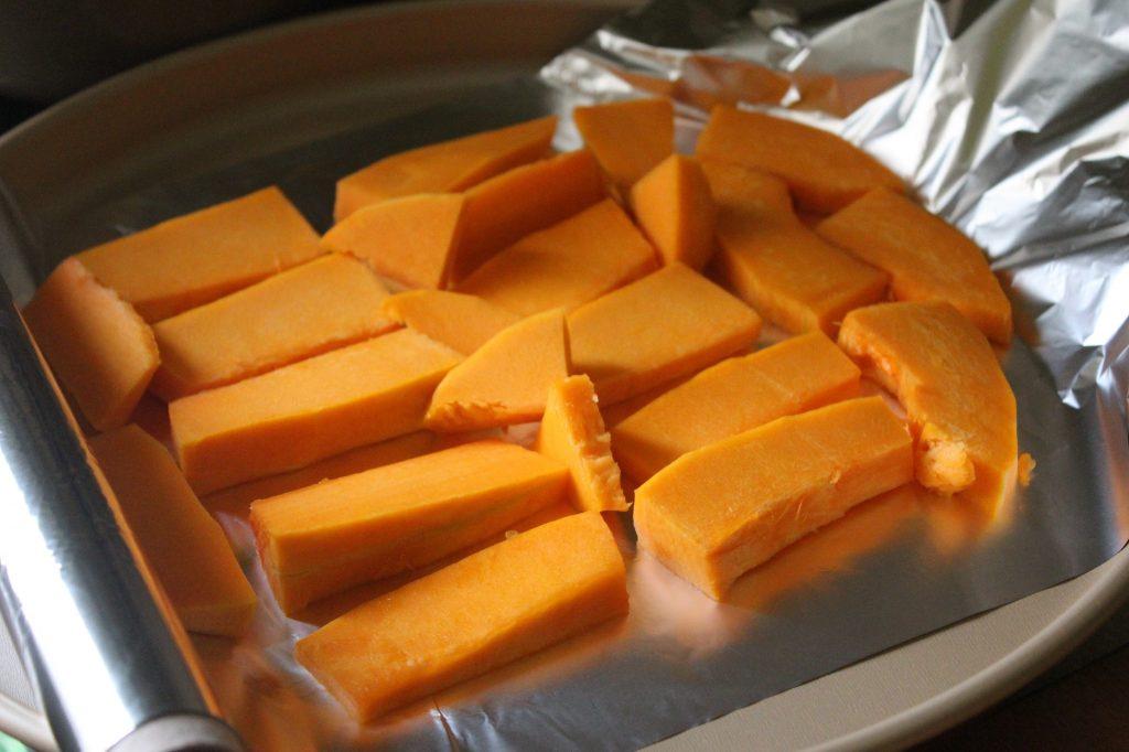 Фото рецепта - Тыквенный кекс с цитрусовой глазурью - шаг 2