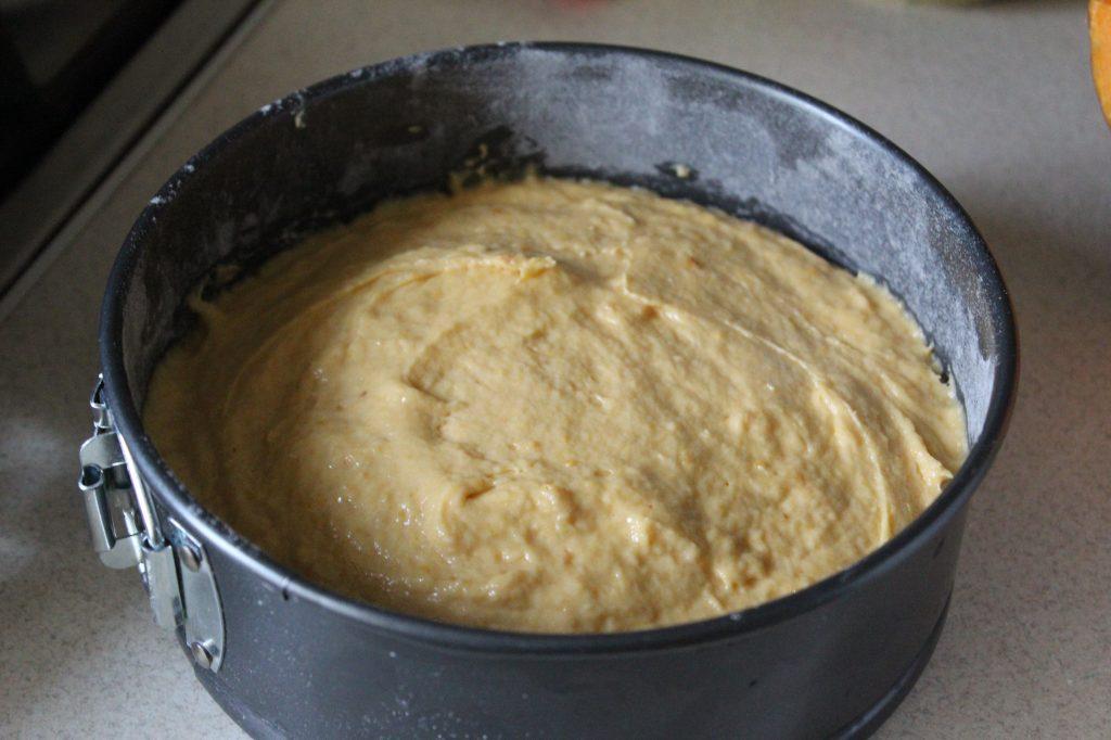 Фото рецепта - Тыквенный кекс с цитрусовой глазурью - шаг 9