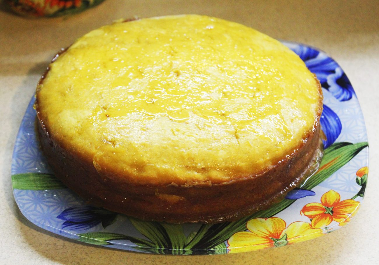 Тыквенный кекс с цитрусовой глазурью