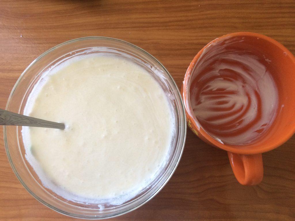 Фото рецепта - Жареные коржи для торта - шаг 4