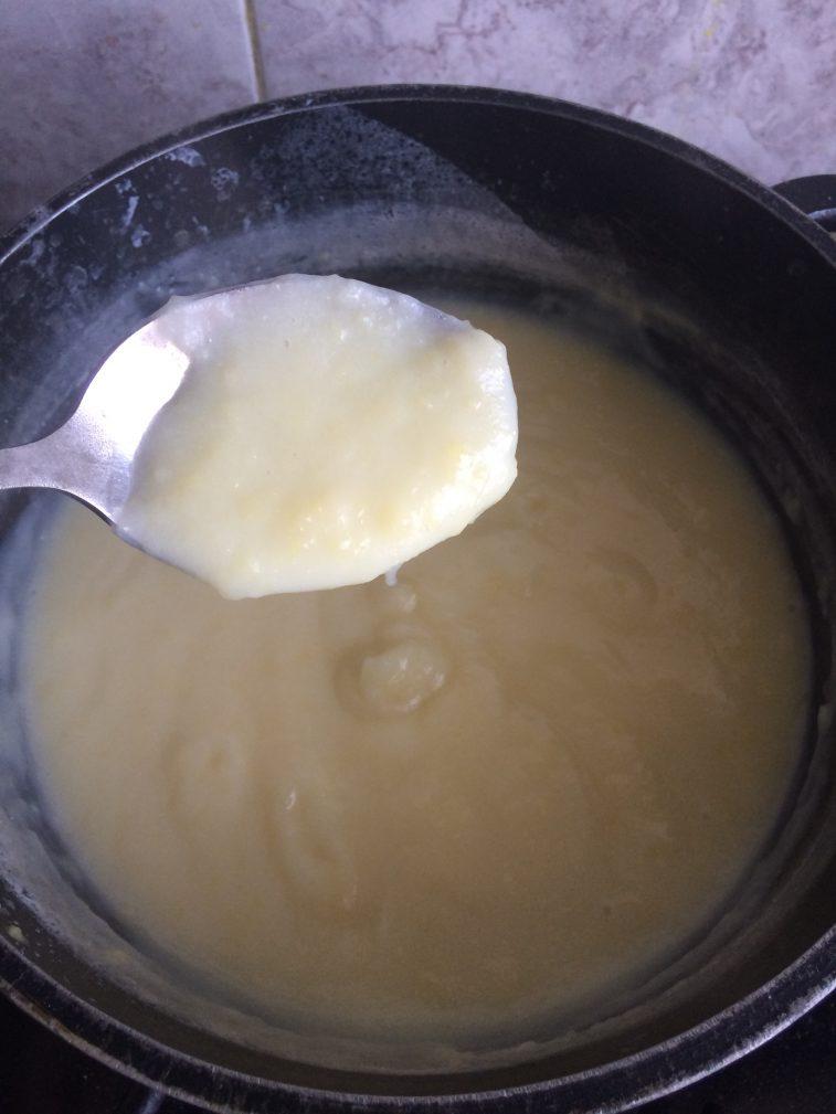 Фото рецепта - Заварной крем для торта - шаг 6