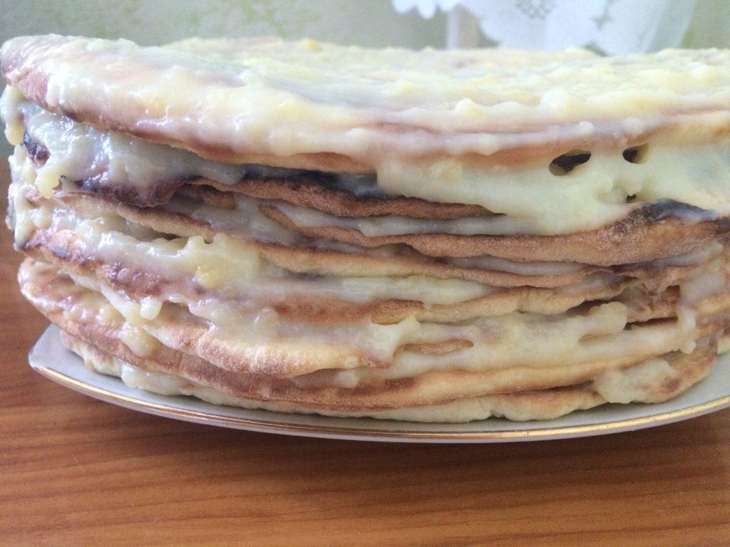 Фото рецепта - Заварной крем для торта - шаг 7