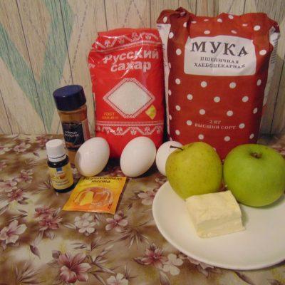 Фото рецепта - Яблочный кекс - шаг 1