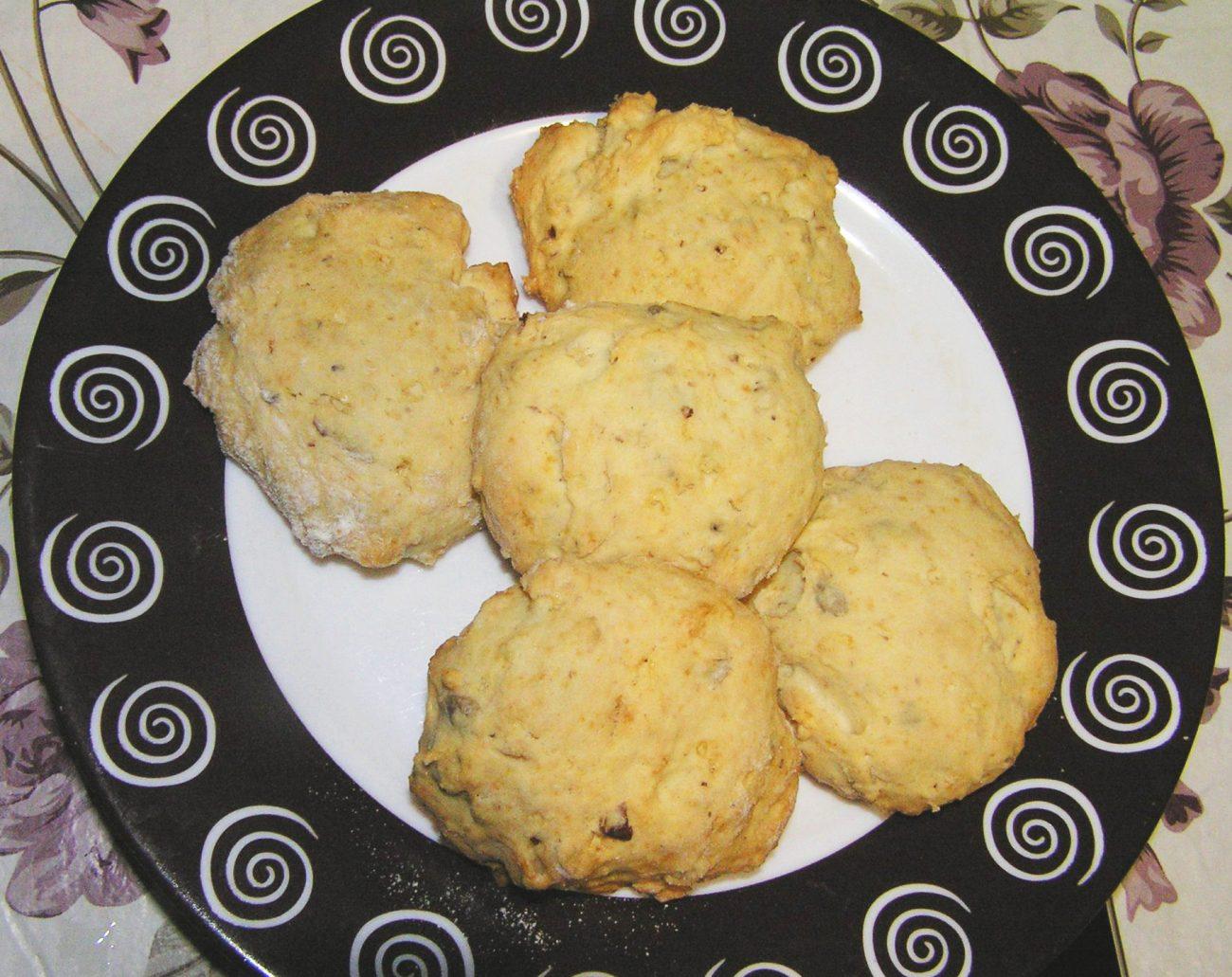 Печенье на сливках с орехами и семечками