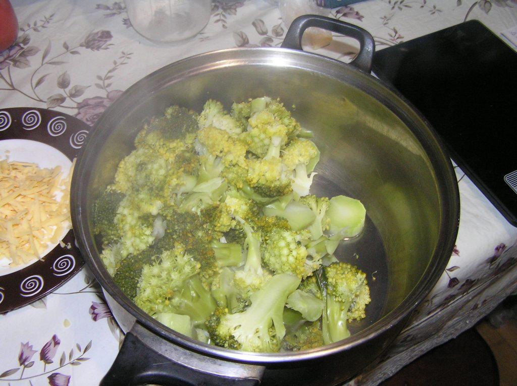 Фото рецепта - Брокколи с сыром - шаг 3