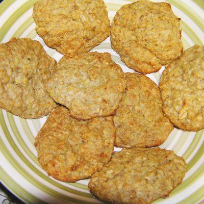 Печенье с бананом и овсянкой - рецепт с фото