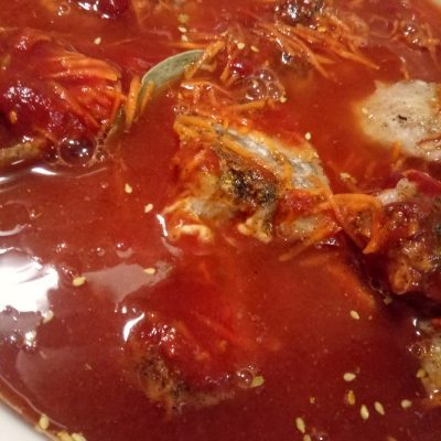 Фото рецепта - Рыба под томатным соусом (универсальная подливка) - шаг 3