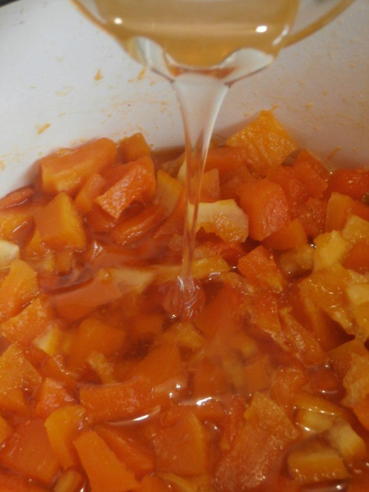 Фото рецепта - Варенье из тыквы с цитрусами и мёдом «Жёлтая сказка» - шаг 5