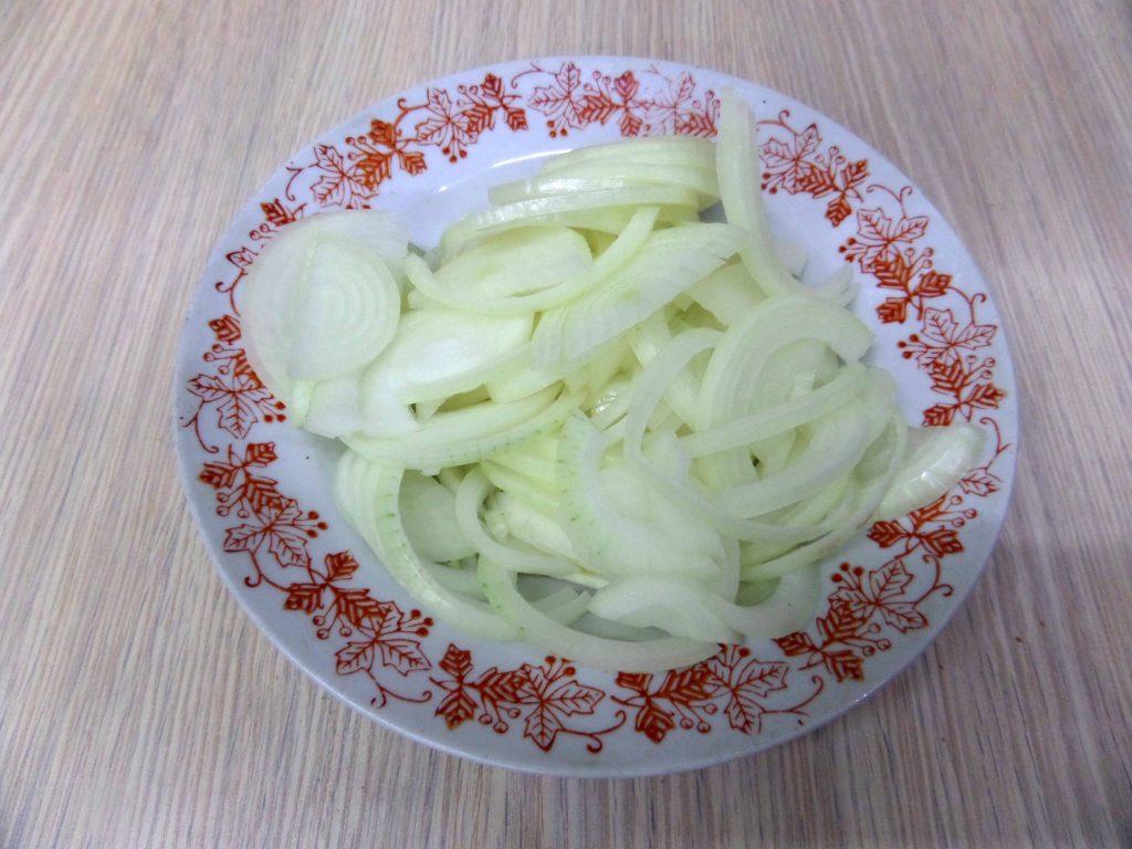 Фото рецепта - Острый салат из свежей рыбы по-корейски - шаг 5