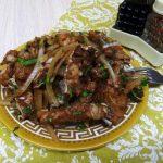 Острый салат из свежей рыбы по-корейски