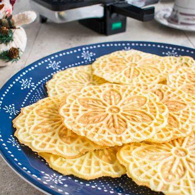 Чешские (карловарские) вафли - рецепт с фото