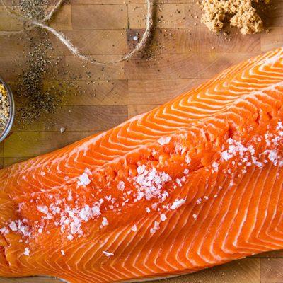 Форель соленая – простой рецепт засолки - рецепт с фото