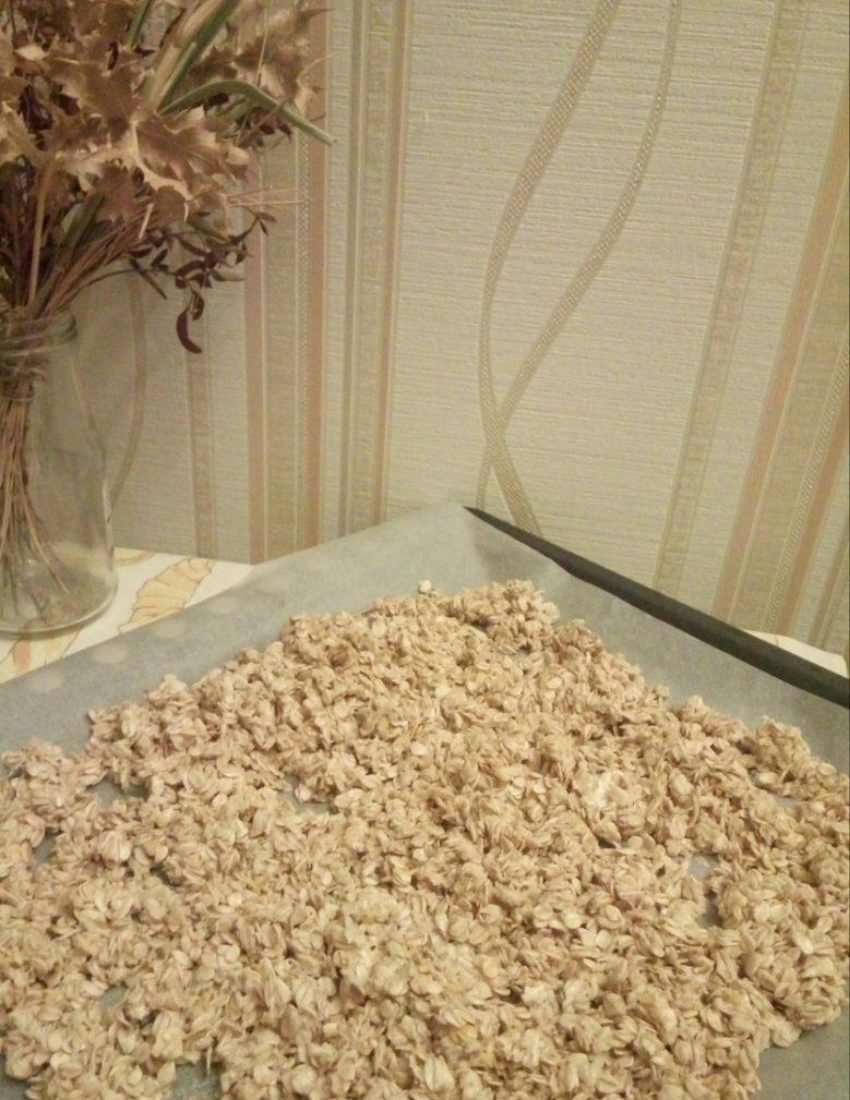 Фото рецепта - Домашняя ароматная гранола - шаг 4