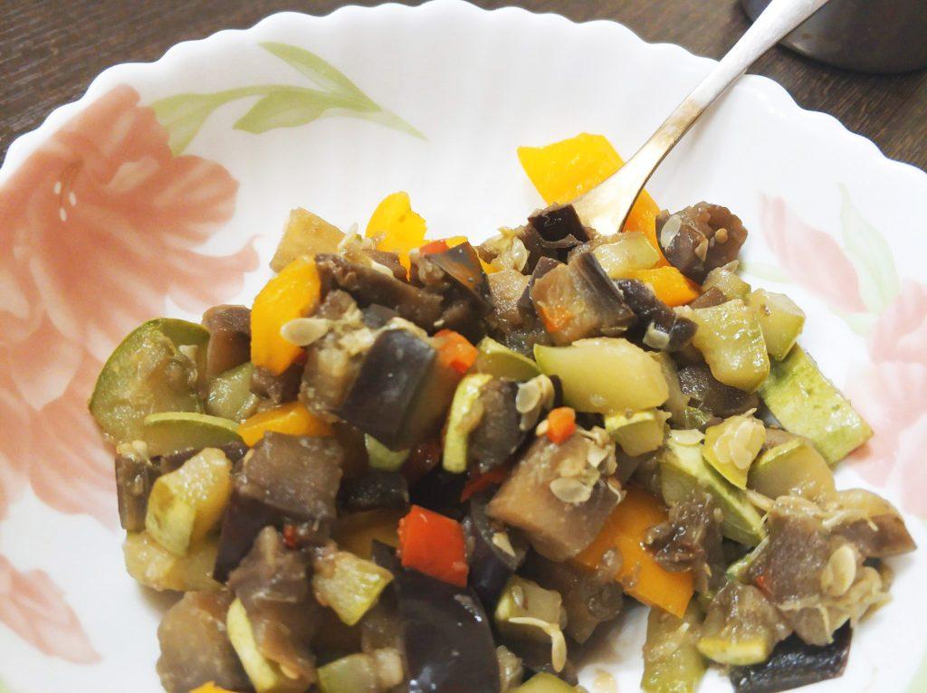 Фото рецепта - Овощное рагу за 15 минут - шаг 7