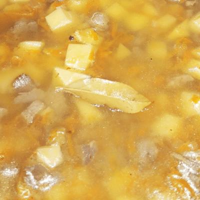 Тушеная индейка с картофелем в мультиварке - рецепт с фото