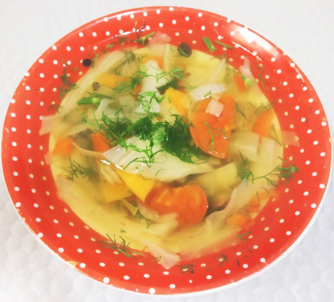 Суп для похудения с сельдереем