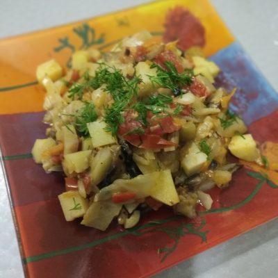 Фото рецепта - Овощное соте - шаг 5