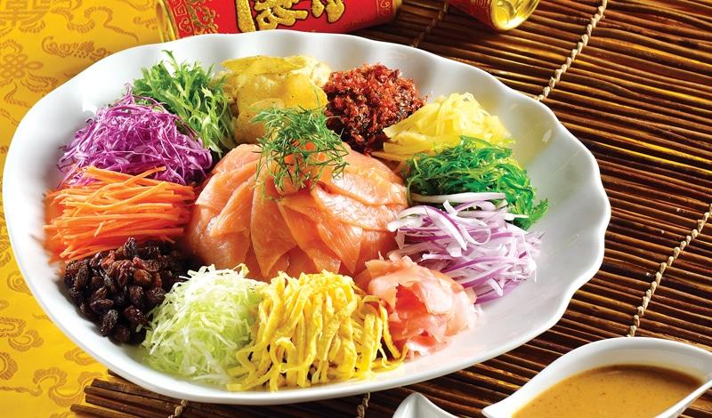 Новогодний салат «Ю-Шэн» по-китайски