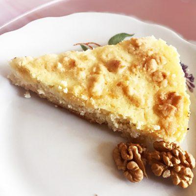Открытый пирог с творогом - рецепт с фото