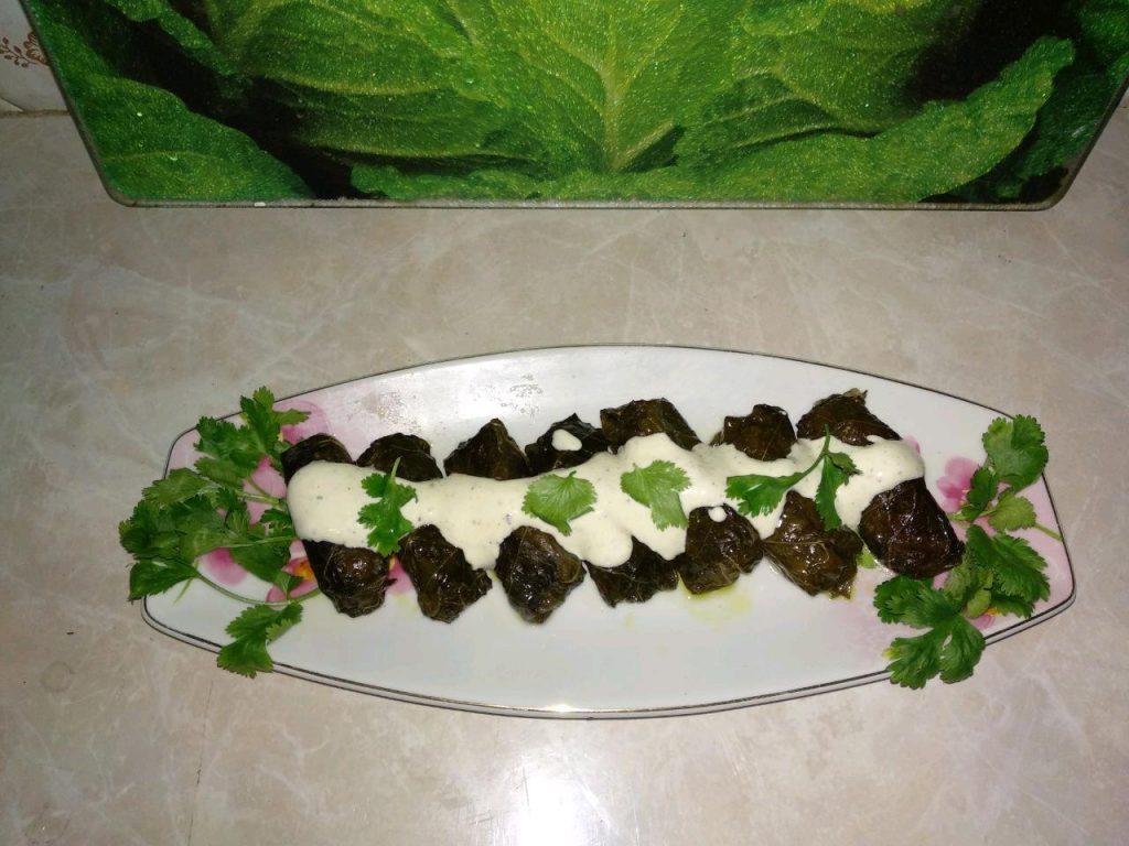 Фото рецепта - Долма  (голубцы в виноградных листьях) - шаг 4
