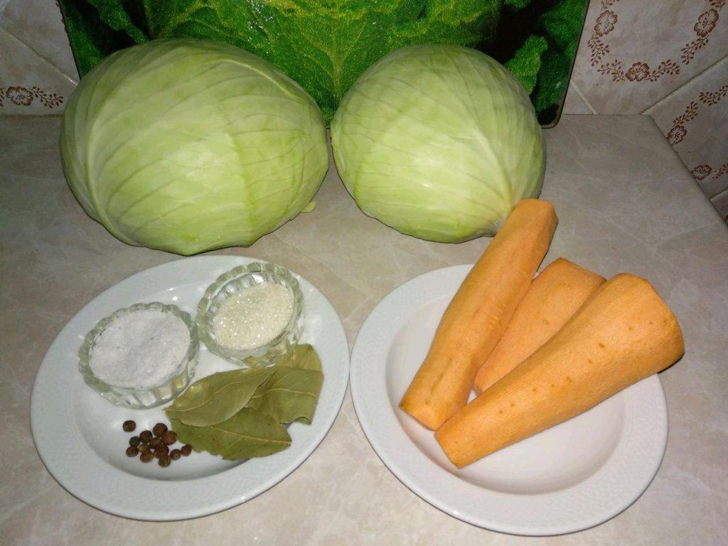 Фото рецепта - Квашеная капуста (классическая) - шаг 1