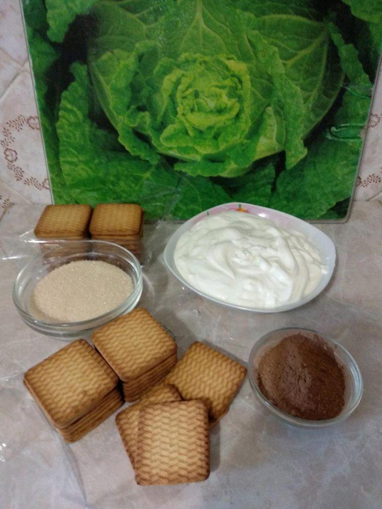 "Фото рецепта - Торт без выпечки: ""А ля Тирамису"" - шаг 1"