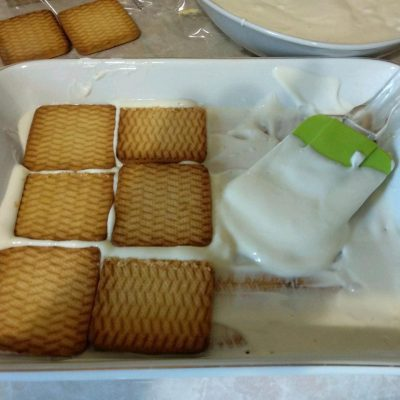 "Фото рецепта - Торт без выпечки: ""А ля Тирамису"" - шаг 3"