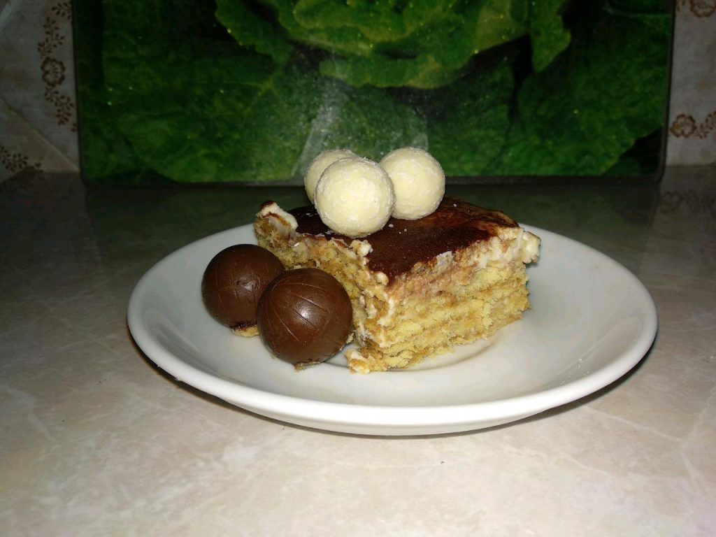 "Фото рецепта - Торт без выпечки: ""А ля Тирамису"" - шаг 6"