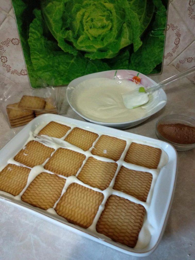 "Фото рецепта - Торт без выпечки: ""А ля Тирамису"" - шаг 4"