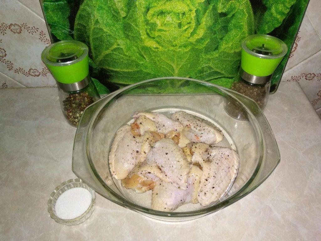 Фото рецепта - Куриные крылья в маринаде (в аэрогриле) - шаг 1