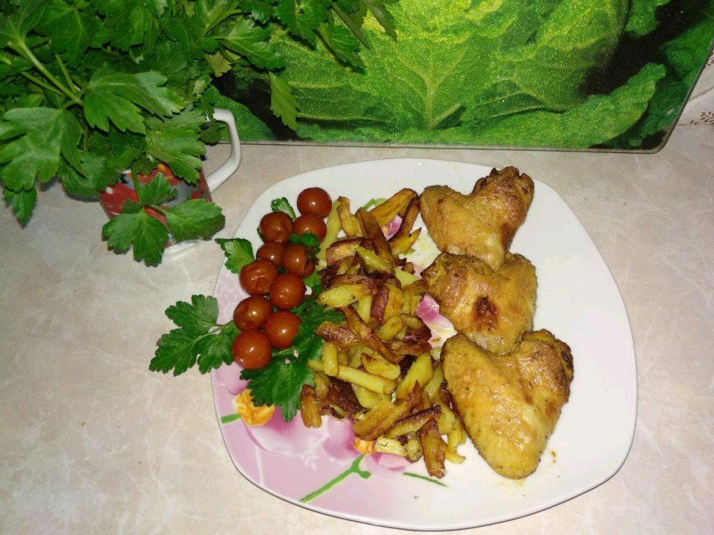 Фото рецепта - Куриные крылья в маринаде (в аэрогриле) - шаг 6