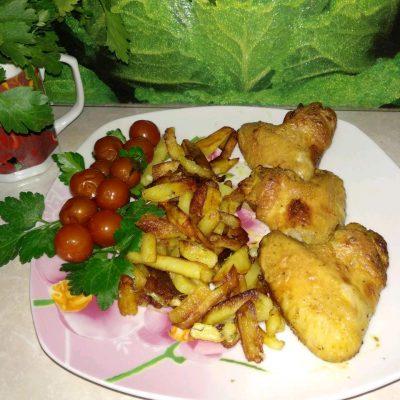 Куриные крылья в маринаде (в аэрогриле) - рецепт с фото