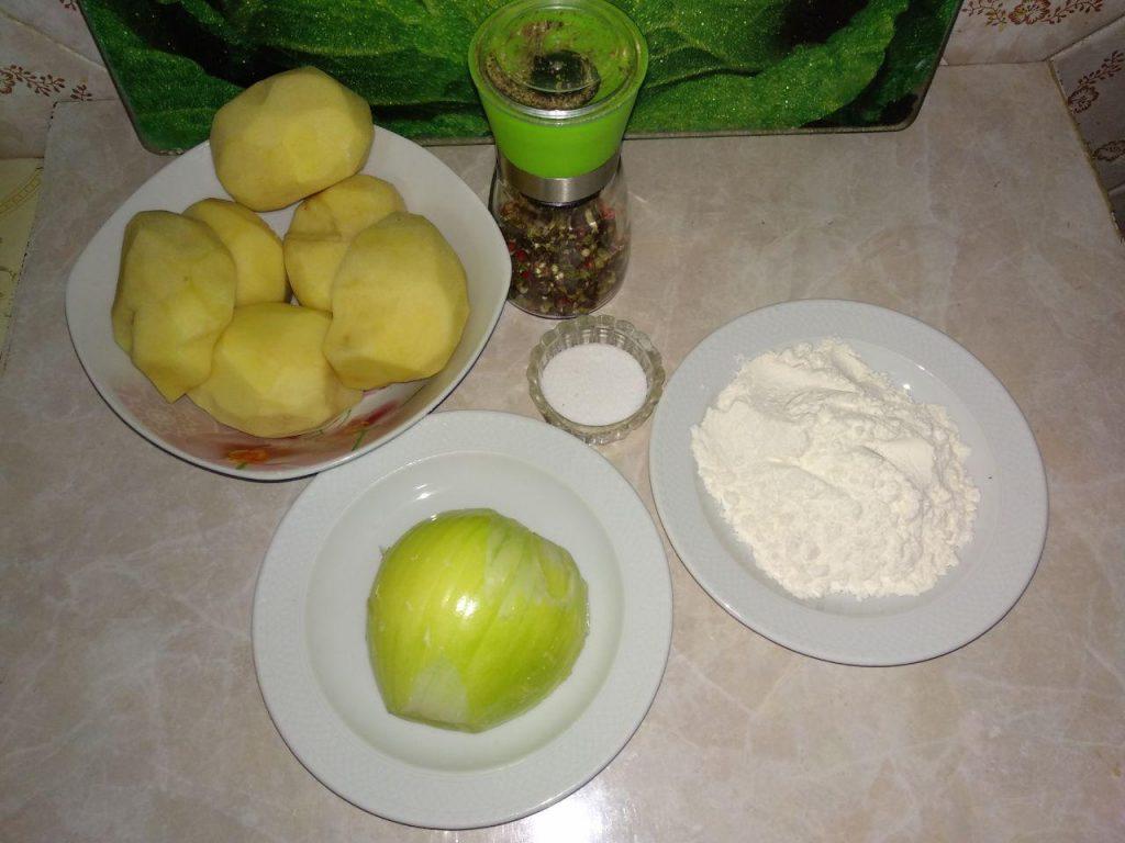 Фото рецепта - Драники, деруны, картофленники к завтраку - шаг 1