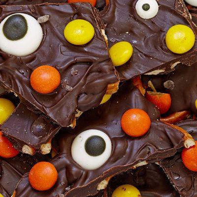 Шоколадные конфеты «Монстры в ночи» - рецепт с фото